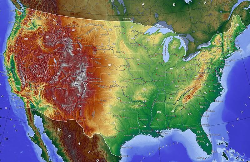 Geografi Amerika Serikat Dengan Satwanya