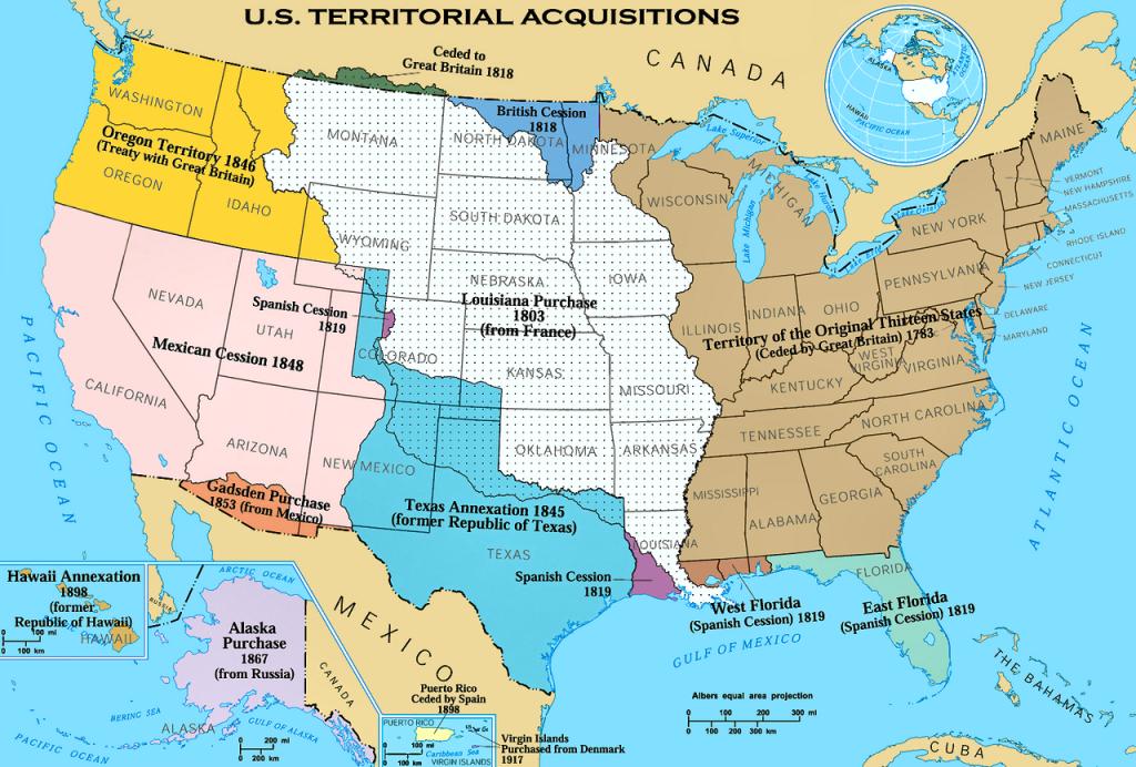 Kemerdekaan dan Ekspansi Amerika Serikat